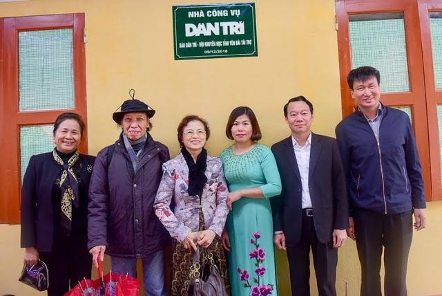 Niềm vui ngày khánh thành Nhà công vụ Dân trí tại Yên Bái - 14