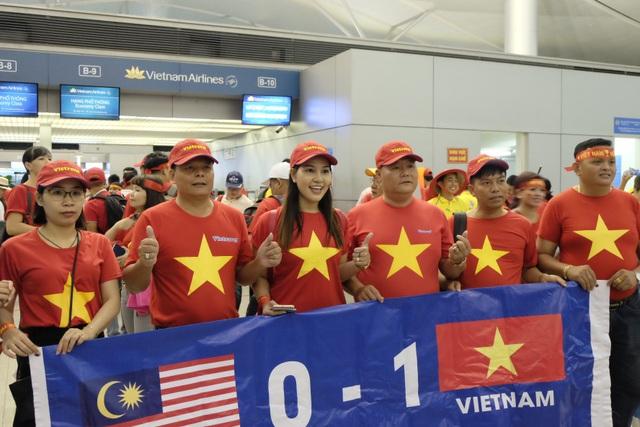 Người hâm mộ hy vọng tuyển Việt Nam sẽ giành chiến thắng 1-0 trước đội chủ nhà Malaysia.