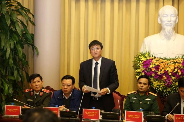Thứ trưởng Bộ GD&ĐT Lê Hải An thông tin về Luật Giáo dục đại học sửa đổi, bổ sung.