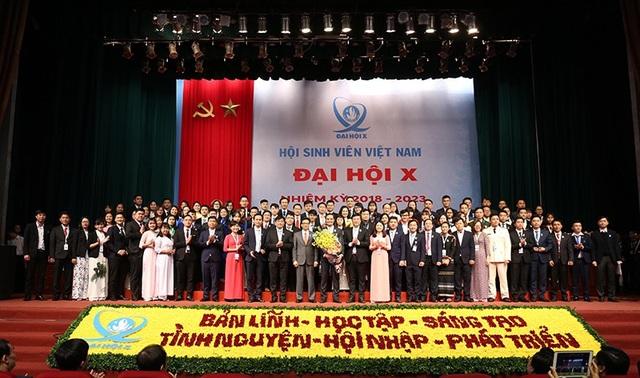 Ra mắt Ban chấp hành T.Ư Hội Sinh viên Việt Nam khóa 10