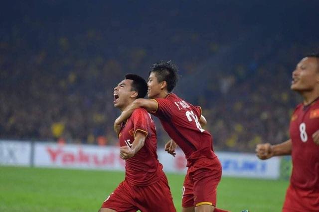 Đội tuyển Việt Nam vẫn chưa hề thua tại AFF Cup 2018 (ảnh: Huyền Trang)