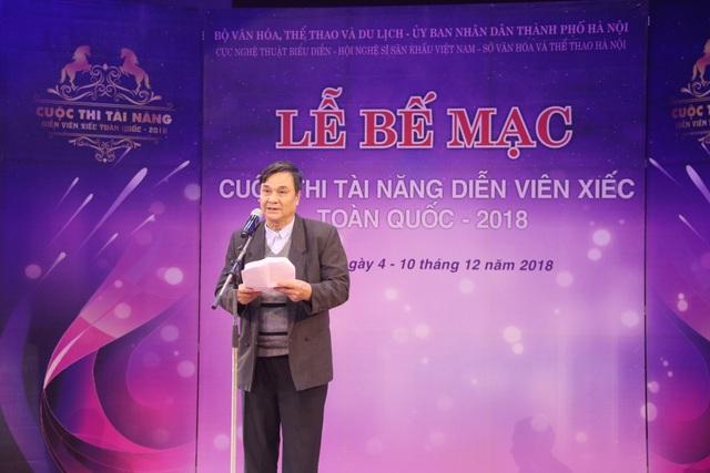 NSND Lưu Văn Phúc, Chủ tịch Hội đồng giám khảo đánh giá chất lượng cuộc thi.