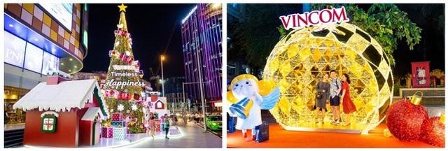 Ánh sáng rực rỡ của Giáng Sinh đã bao trùm hệ thống Vincom toàn quốc