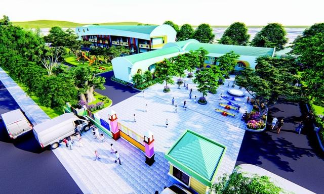 Kim Oanh Group xây trường mầm non cho con em công nhân lao động - 3
