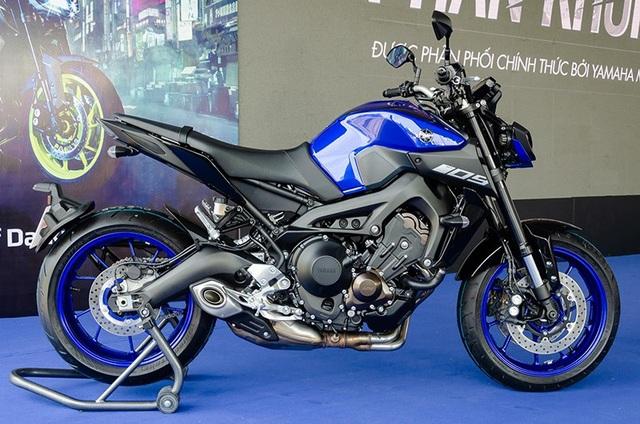 Yamaha công bố giá bán MT-09 và XSR900 tại Việt Nam - Ảnh 4.