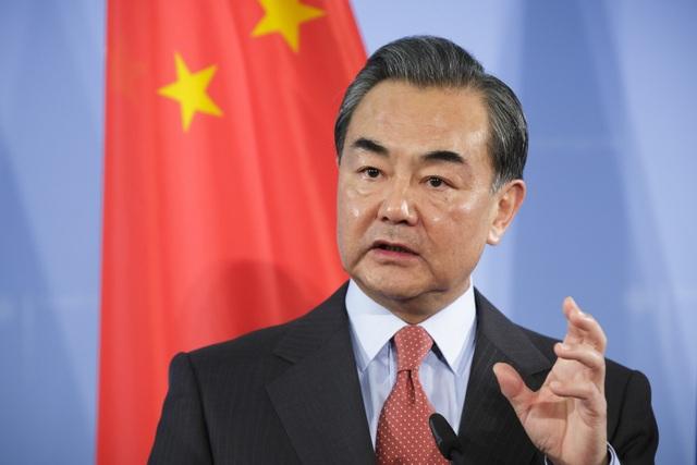 Ngoại trưởng Trung Quốc Vương Nghị (Ảnh: Getty)