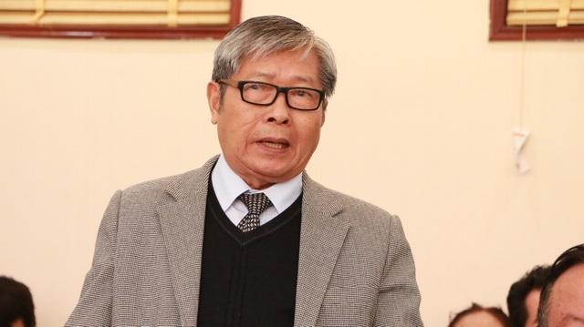 GS.TS Nguyễn Ngọc Phú - Phó Chủ tịch kiêm Tổng thư ký Hội Khoa học Tâm lý Giáo dục Việt Nam. (Ảnh: Đ.T)
