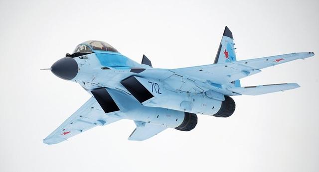 Máy bay chiến đấu MiG-35 của Nga (Ảnh: Sputnik)