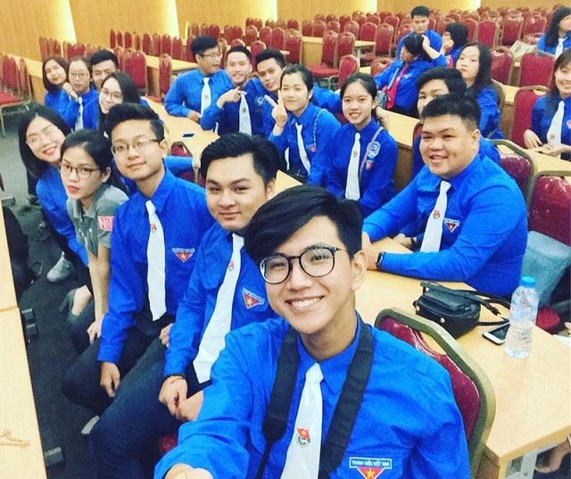 Hoàng Nam tham gia Đại hội toàn quốc Hội Sinh viên Việt Nam