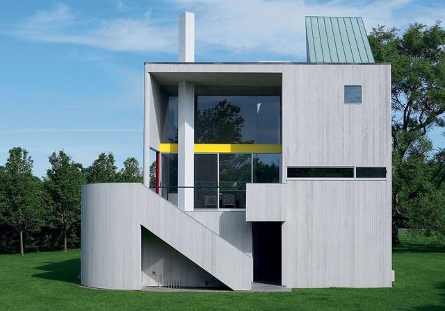 """Dù được xây dựng từ năm 1966 nhưng """"con cưng"""" của kiến trúc sư Charles Gwathmey cho đến nay vẫn là một ngôi nhà ở mang thiết kế đi trước thời đại!"""