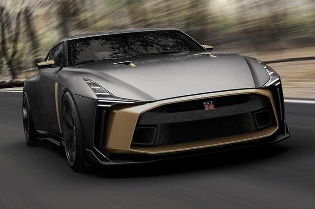 Ngắm siêu xe triệu đô Nissan GT-R50 - Ảnh 4.