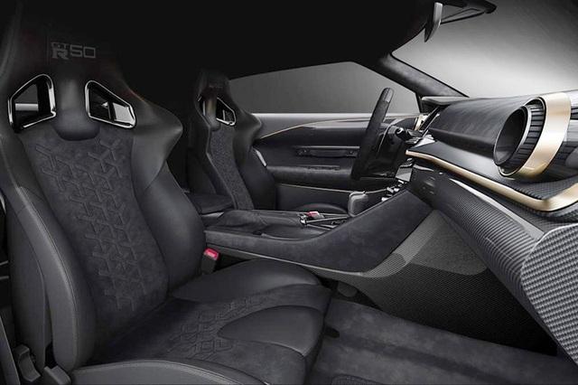 Ngắm siêu xe triệu đô Nissan GT-R50 - Ảnh 7.