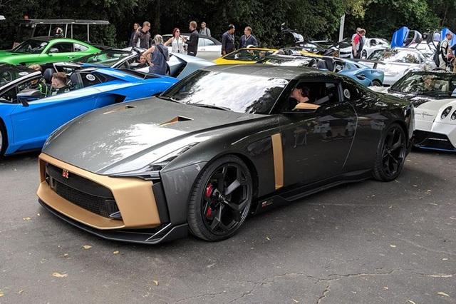 Ngắm siêu xe triệu đô Nissan GT-R50 - Ảnh 1.