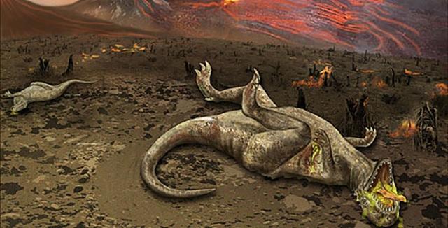 Hé lộ bí mật về sự kiện tuyệt chủng tàn khốc nhất trên Trái Đất - Ảnh 1.