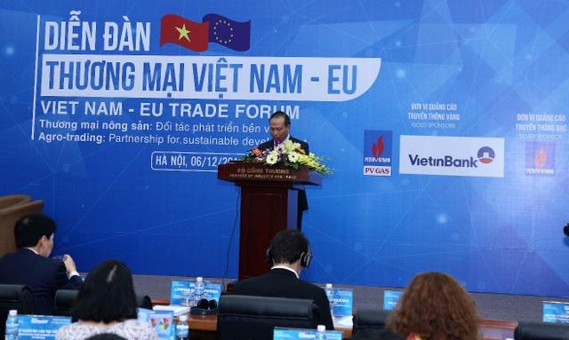 Thứ trưởng Bộ Công Thương Cao Quốc Hưng phát biểu khai mạc Diễn đàn