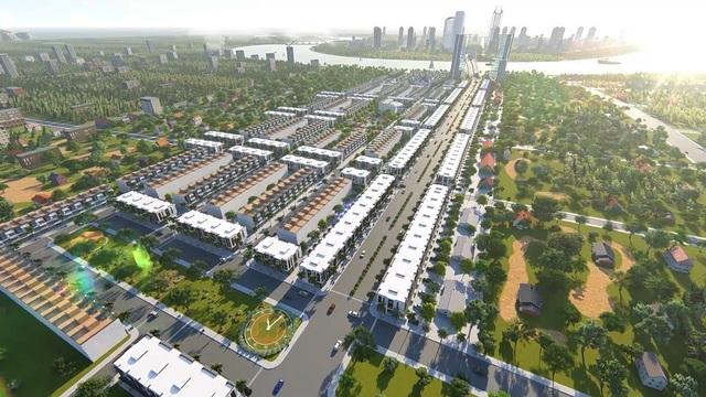 Bách Đạt Riverside được quy hoạch bài bản gồm 51 biệt thự, 707 nhà liền kề
