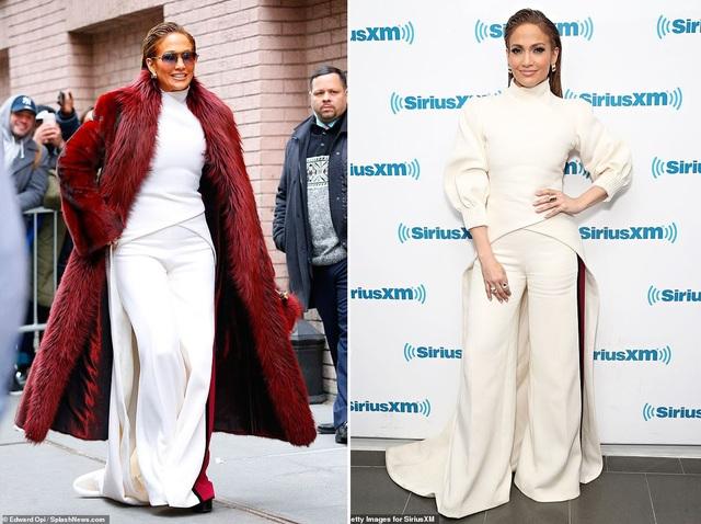 Jennifer Lopez xuất hiện tại New York mới đây