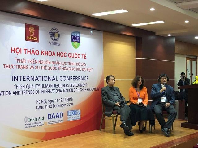 Các diễn giả tham gia Hội thảo khoa học quốc tế