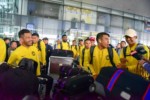 Đội tuyển Malaysia đến Việt Nam, sẵn sàng cho trận chung kết lượt về AFF Cup 2018 - 1