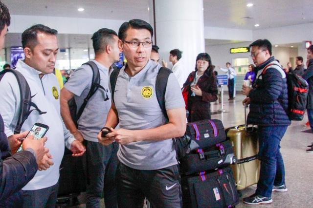 Đội tuyển Malaysia đến Việt Nam, sẵn sàng cho trận chung kết lượt về AFF Cup 2018 - 2