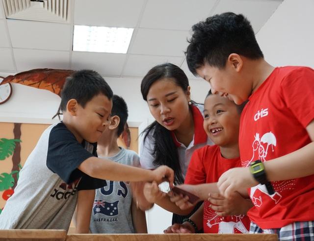 Triết lý của CMS Edu, mỗi đứa trẻ đều có tố chất của một thiên tài