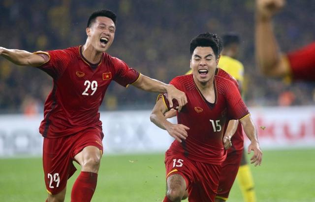 Đội tuyển Việt Nam sẽ bắt đầu hành trình năm mới tại Asian Cup 2019 (ảnh: Anh Hải)