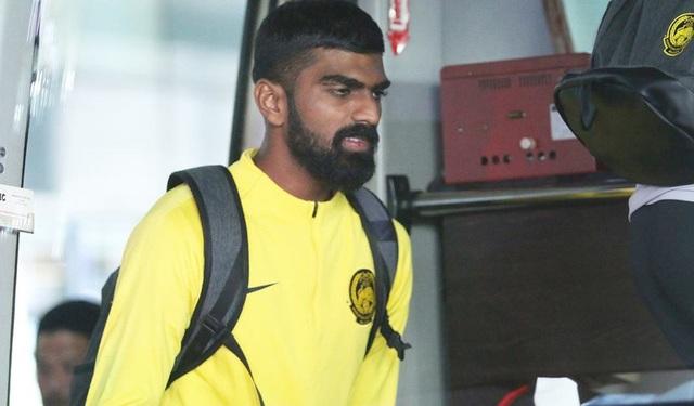 Đội tuyển Malaysia có mặt ở sân bay Nội Bài trưa nay