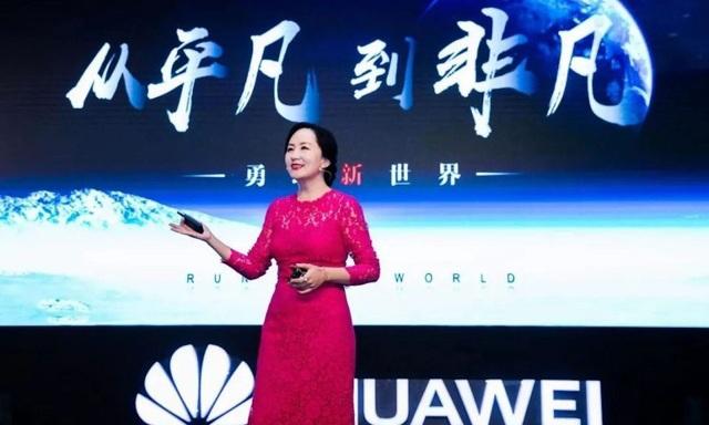 Giám đốc tài chính Huawei Mạnh Vãn Chu. (Ảnh: Getty)