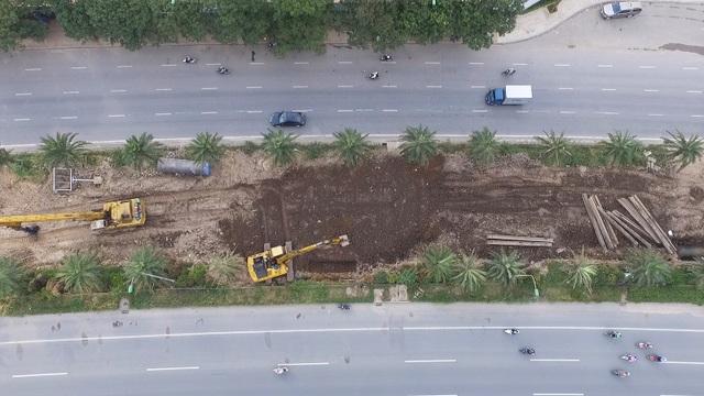 Toàn cảnh công trình nước sạch sông Đà số 2 đang thi công - 8