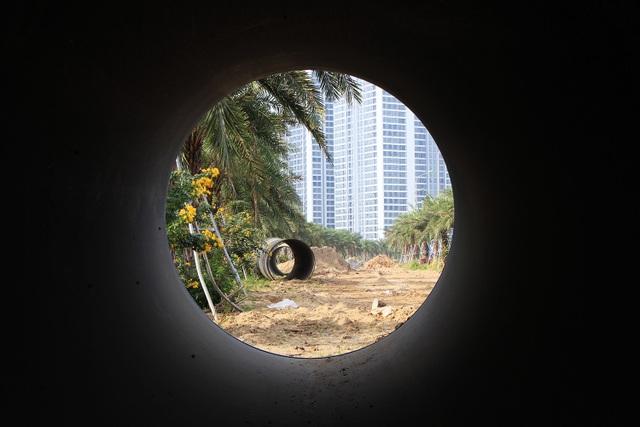 Toàn cảnh công trình nước sạch sông Đà số 2 đang thi công - 4