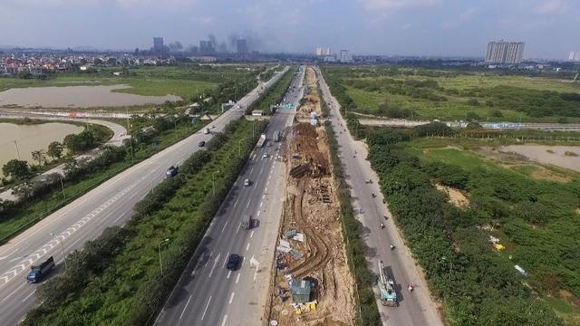 Toàn cảnh công trình nước sạch sông Đà số 2 đang thi công - 7