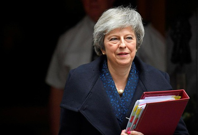 Thủ tướng Anh Theresa May. Ảnh: Reuters