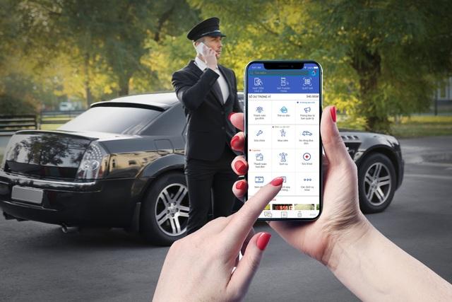 Ứng dụng công nghệ thông minh 4.0 trong phương tiện đi lại Sunshine Cab
