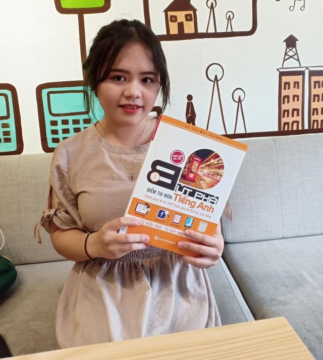 Kim Chi cũng lựa chọn Bộ sách Bứt phá để chuẩn bị kiến thức cho kỳ thi THPT quốc gia.