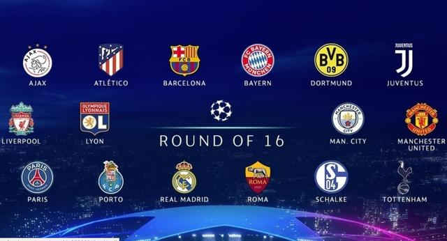 Danh sách 16 CLB giành quyền vào vòng knock-out Champions League 2018