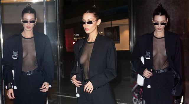 Bella Hadid là em gái Gigi Hadid, cô đã có một năm 2018 cực kỳ thành công khi là gương mặt quảng cáo của Dior, Giuseppe Zanotti, NARS, Ochirly... Tần suất xuất hiện của chân dài cao 1,74m này dày đặc tại các sự kiện thời trang lớn trên khắp thế giới