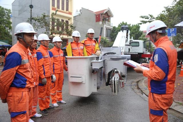 Đội sửa chữa Hotline Công ty Điện lực Bắc Ninh