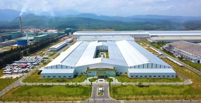 Nhà máy trong Khu KTM Chu Lai đang hoạt động