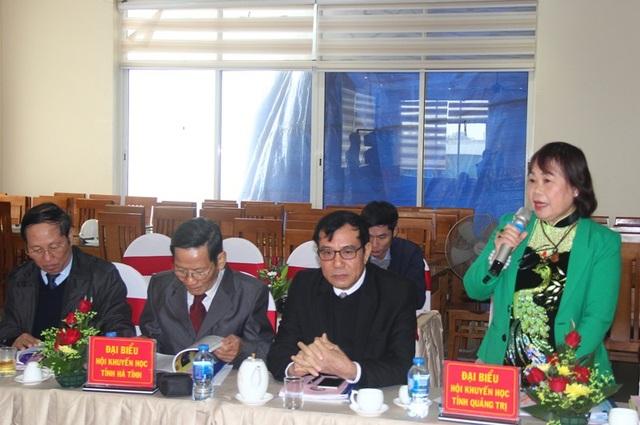 Các đại biểu tham gia thảo luận tại hội nghị.