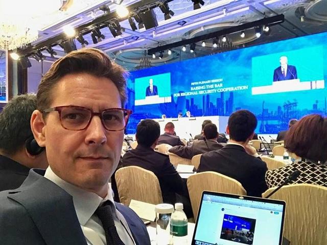 Cựu nhân viên ngoại giao Michael Kovrig (Ảnh: Reuters)