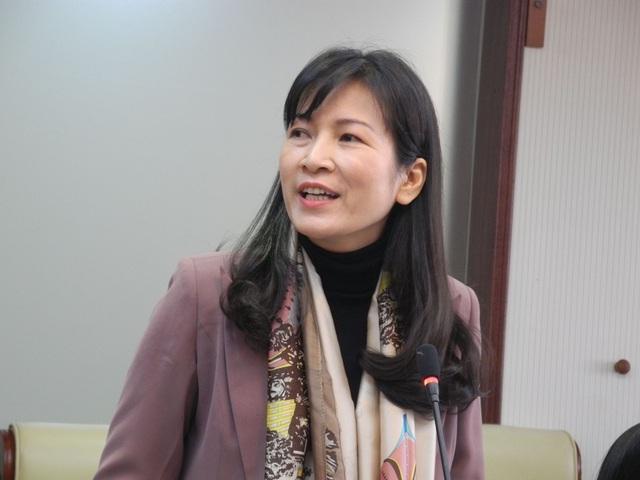 TS. Nguyễn Thị Thu Anh - Hiệu trưởng Trường THCS&THPT Nguyễn Tất Thành.
