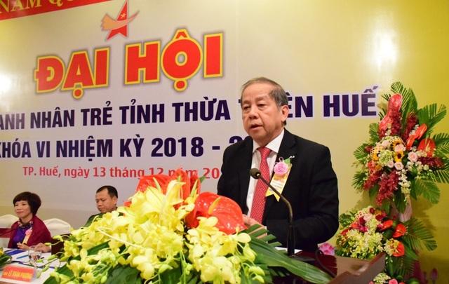 Ông Phan Ngọc Thọ chia sẻ tâm huyết với các doanh nhân trẻ tỉnh nhà