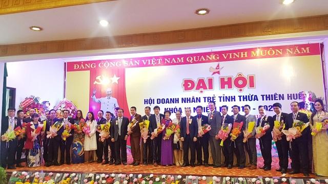 Ra mắt Ban chấp hành Hội Doanh nhân trẻ tỉnh Thừa Thiên Huế khóa VI nhiệm kỳ 2018 - 2023 với 27 thành viên