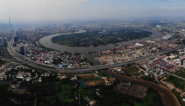 Dự án Khu đô thị Bình Quới - Thanh Đa bị treo 26 năm qua vẫn chưa rõ số phận (ảnh: Phạm Nguyễn)