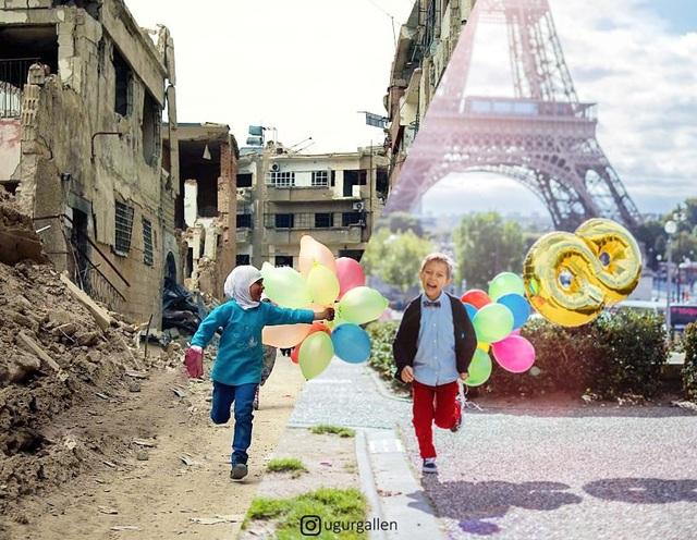 Niềm vui trẻ thơ, nhưng chắc hẳn không phải đứa trẻ nào cũng có được niềm vui trọn vẹn