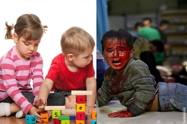 Không phải đứa trẻ nào cũng được vui chơi