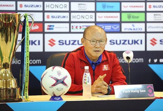 HLV Park Hang Seo tự tin trước trận chung kết lượt về