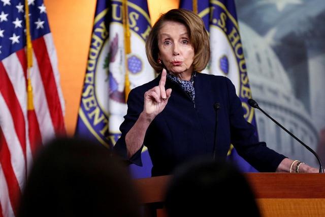 Lãnh đạo đảng Dân chủ ở Hạ viện Mỹ Nancy Pelosi (Ảnh: Reuters)