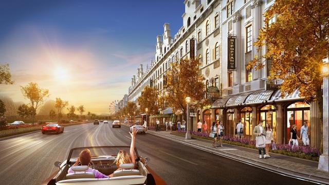 Shophouse Europe - mạch nối giao thương sầm uất và thịnh vượng tại vùng đất di sản