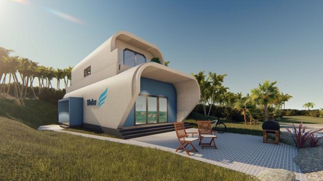 Water House trong tương lai có thể tích hợp vào Fly House , thiết kế kiểu du thuyền